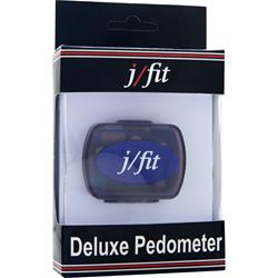 J-FIT Deluxe Pedometer 1 unit