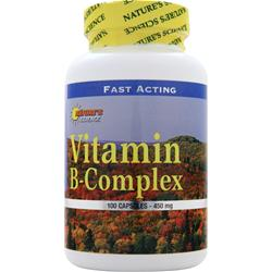 Nature's Science Vitamin B-Complex 100 caps