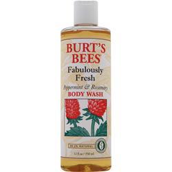 BURT'S BEES Body Wash Peppermint & Rosemary 12 fl.oz