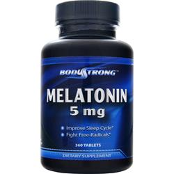 BODYSTRONG Melatonin (5mg) 360 tabs