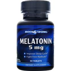 BodyStrong Melatonin (5mg) 90 tabs