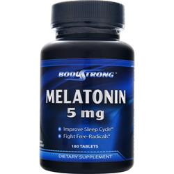 BodyStrong Melatonin (5mg) 180 tabs