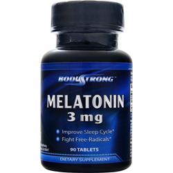 BodyStrong Melatonin (3mg) 90 tabs