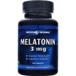 BODYSTRONG Melatonin (3mg) 180 tabs