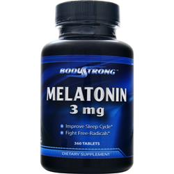 BODYSTRONG Melatonin (3mg) 360 tabs