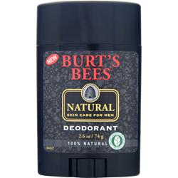 BURT'S BEES Men's Natural Deodorant 2.6 oz