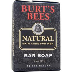 BURT'S BEES Men's Natural Bar Soap 4 oz