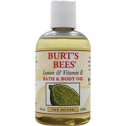 Burt's Bees Bath and Body Oil Lemon & Vitamin E 4 fl.oz