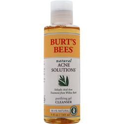 Burt's Bees Natural Acne Solutions Purifying Gel Cleanser 5 fl.oz