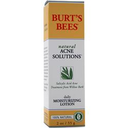 BURT'S BEES Natural Acne Solutions Daily Moisturizing Lotion 2 oz