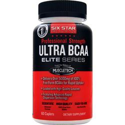 SIX STAR PRO NUTRITION Professional Strength Ultra BCAA Elite Series 60 cplts