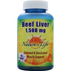 Nature's Life Beef Liver (1500mg) 100 caps
