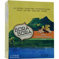 Bora Bora Bora Bora Bar Tribal Cinnamon Oatmeal 12 bars