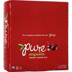PROMAX Pure Organic Bar Cherry Cashew 12 bars