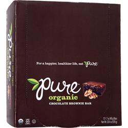 PROMAX Pure Organic Bar Chocolate Brownie 12 bars