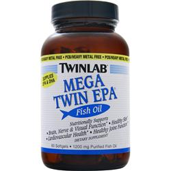 TwinLab Mega Twin EPA Fish Oil 60 sgels
