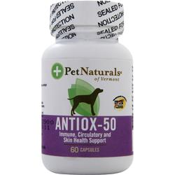 PET NATURALS OF VERMONT Antiox-50 For Dogs 60 caps