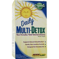 RENEW LIFE Daily Multi-Detox 120 vcaps