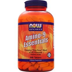 NOW Amino-9 Essentials 300 tabs