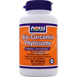 NOW Bio-Curcumin Phytosome 60 vcaps