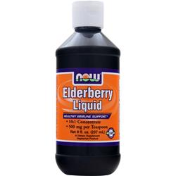 NOW Elderberry Liquid 8 fl.oz