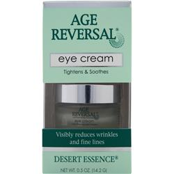Desert Essence Age Reversal Eye Cream .5 oz