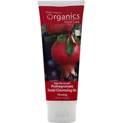 DESERT ESSENCE Organics Facial Care Facial Cleansing Gel Pomegranate 4 oz