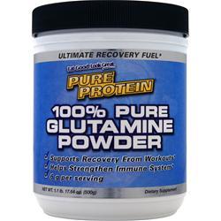 Worldwide Sports 100% Pure Glutamine Powder 1.1 lbs