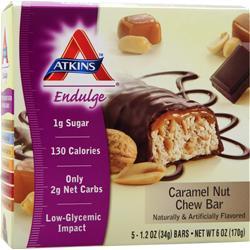 Atkins Endulge Bar Caramel Nut Chew 5 bars