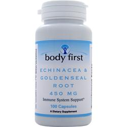 BODY FIRST Echinacea & Goldenseal Root (450mg) 100 caps