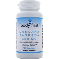 BODY FIRST Cascara Sagrada (450mg) 100 caps