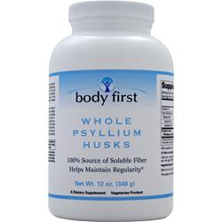 Body First Whole Psyllium Husks 12 oz
