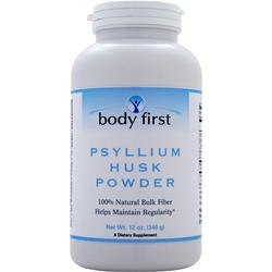 Body First Psyllium Husk Powder 12 oz