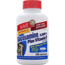 Schiff Glucosamine Plus Vitamin D 340 tabs