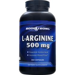 BODYSTRONG L-Arginine (500mg) 360 caps