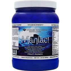 AI SPORTS NUTRITION Maniac! Fruit Punch 1.81 lbs
