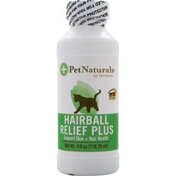 Pet Naturals Of Vermont Hairball Relief Plus 4 fl.oz