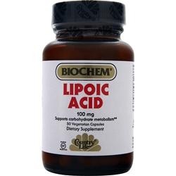 BIOCHEM Lipoic Acid (100mg) 50 vcaps