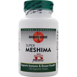 Mushroom Wisdom Super Meshima 120 tabs
