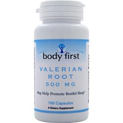 Body First Valerian Root (500mg) 100 caps