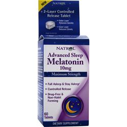 Natrol Melatonin (10mg) Maximum Strength 60 tabs
