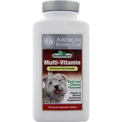 AMERICAN KENNEL CLUB Multi-Vitamin Beef and Cheese- 50 tabs
