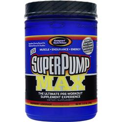 GASPARI NUTRITION SuperPump Max Raspberry Lemonade 1.41 lbs