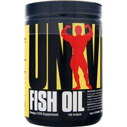 UNIVERSAL NUTRITION Fish Oil 100 sgels