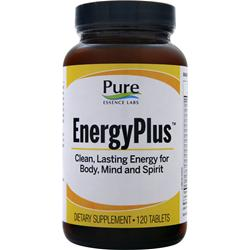 PURE ESSENCE LABS Energy Plus (New Formula) 120 tabs