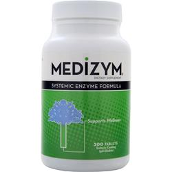 Naturally Vitamins Medizym - Systemic Enzyme Formula 200 tabs