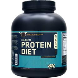 OPTIMUM NUTRITION Complete Protein Diet Double Rich Chocolate 4.3 lbs