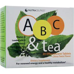 NUTRACEUTICS ABC & Tea 20 tabs