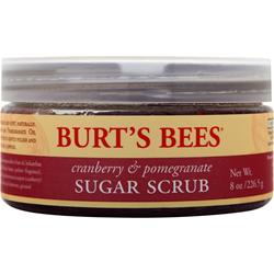 BURT'S BEES Sugar Scrub Cranberry & Pomegranate 8 oz