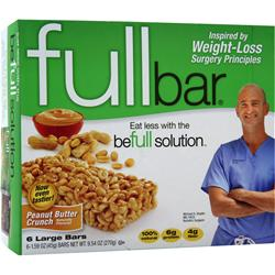 FULL BAR Full Bar Peanut Butter Crunch 6 bars